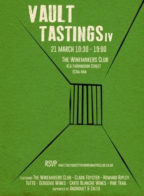 Vault Tasting IV – 21 March 201610.30-19.00