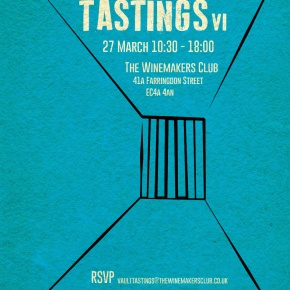 *Save the Date* Vault Tasting – Monday 27 March 201710.30-18.00